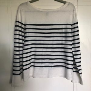 Black and White Sailor Sweater